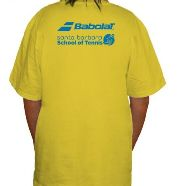 New SB School of Tennis T-Shirts - Back