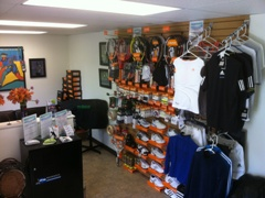 Fully equipped Pro Shop