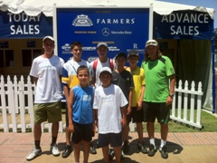 Santa Barbara School of Tennis Tournament Travel Team 1